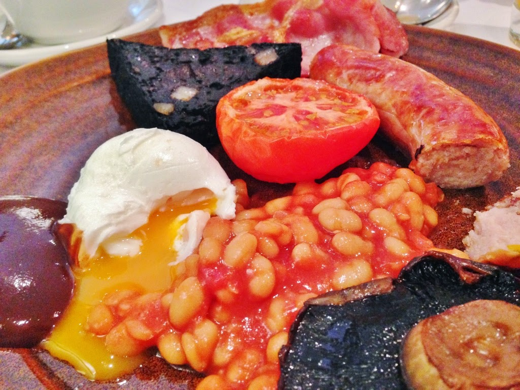 full english yorkshire breakfast the black swan hotel