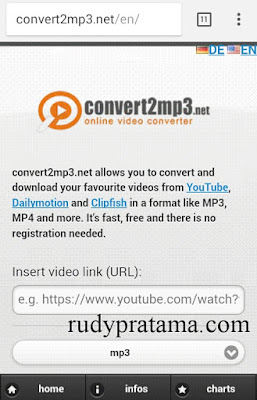 Convert musik youtube to mp3