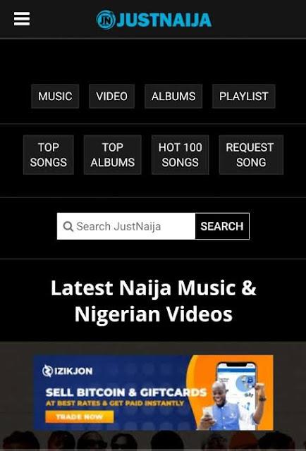 Download Justnaija Current Website Theme