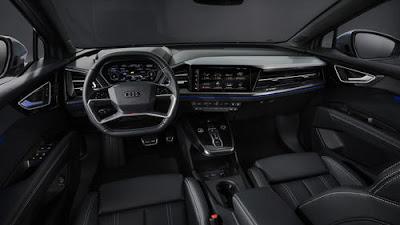 Audi Q4 Etron interior