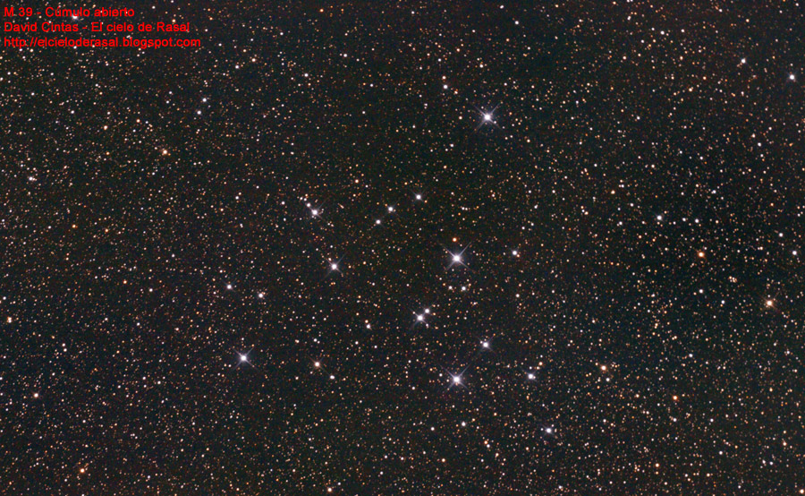 Cumulo abierto M39 M 39 - El cielo de Rasal