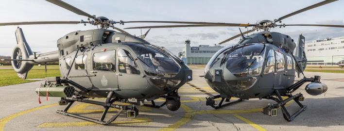 Угорщина отримала легкі бойові гелікоптери H145M