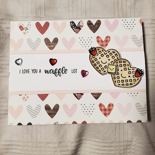 Sunny Studio Stamps: Breakfast Puns Customer Card by Stephanie W
