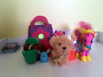 phony bear purse daughter toys