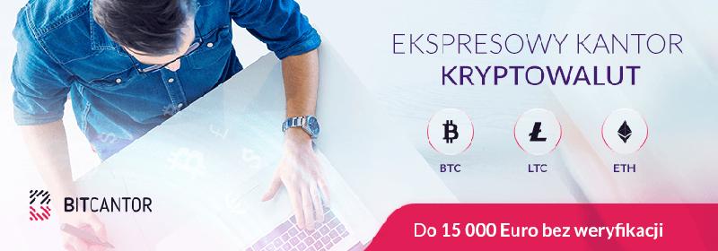 BitCantor - Najszybszy kantor do kryptowalut