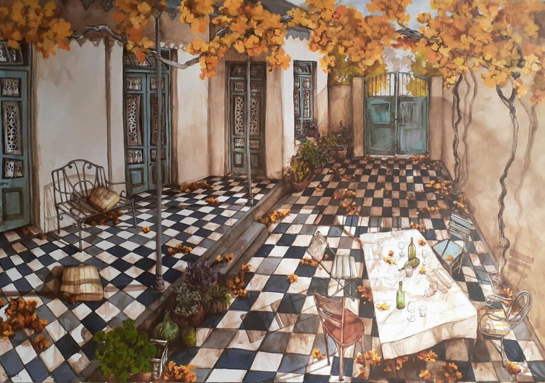Pintura Patio Casa
