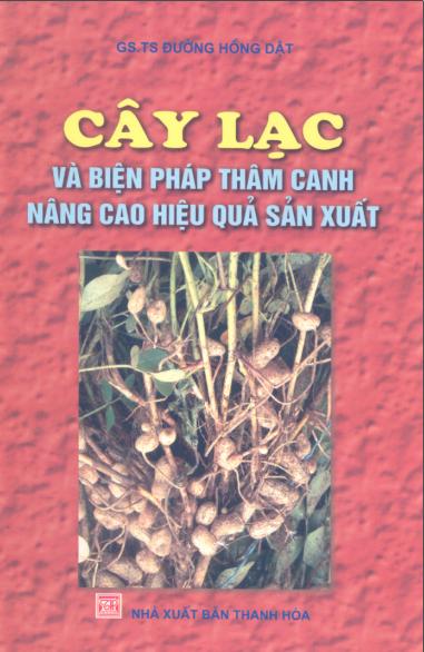 """Bìa sách """"Cây lạc và biện pháp thâm canh nâng cao hiệu quả sản xuất"""""""