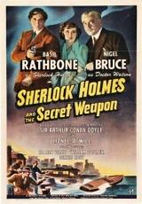 Carátula del DVD Sherlock Holmes y el arma secreta