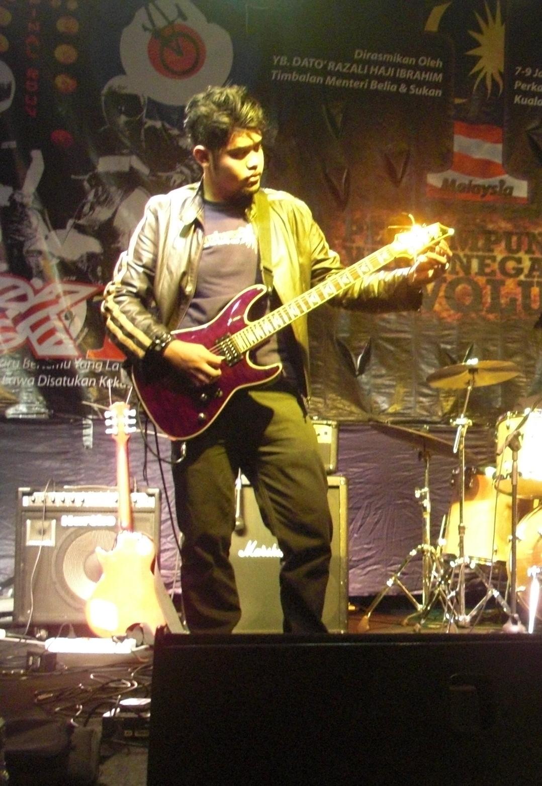 Guitarist Nusantara Gners In Action