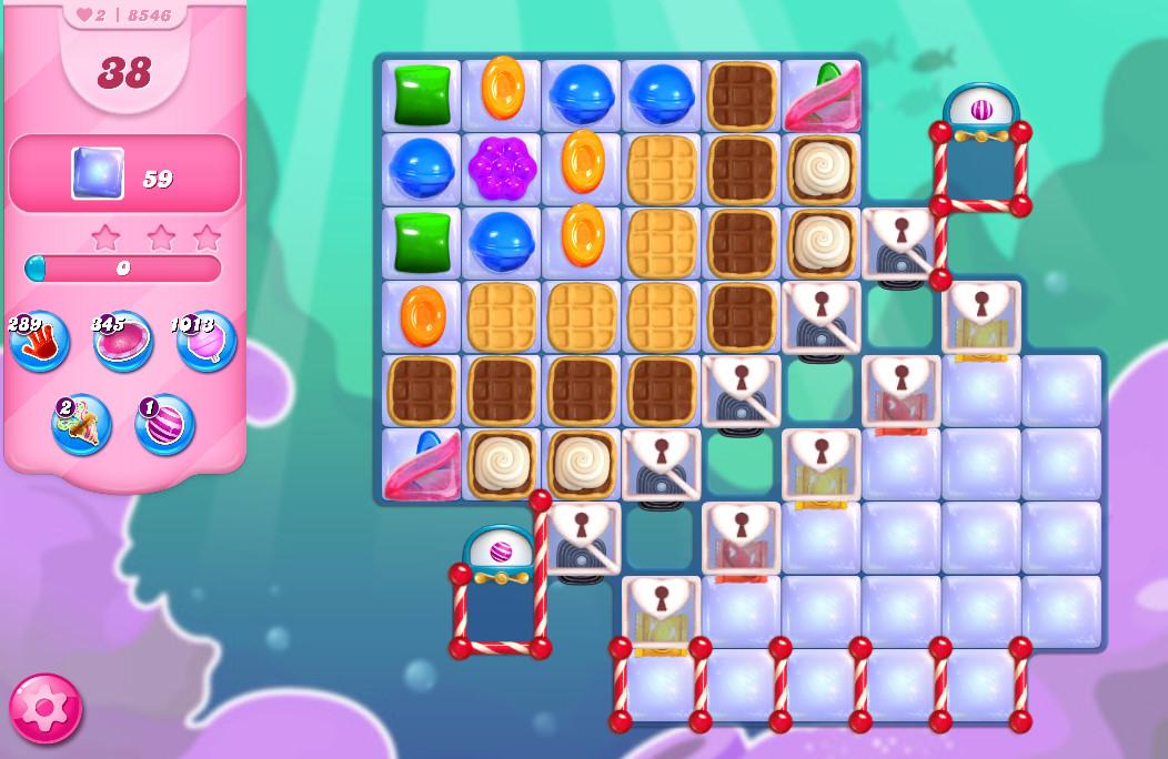 Candy Crush Saga level 8546