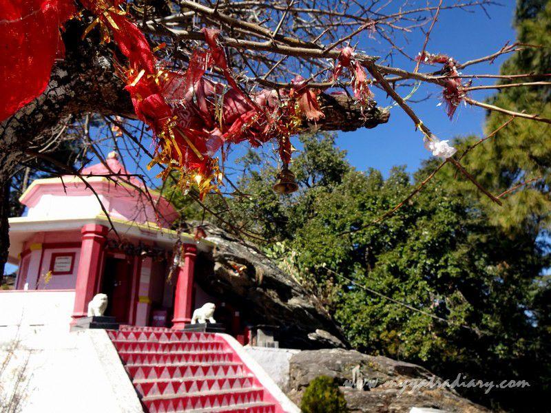 Powerful vibes at the Kasar Devi Temple, Uttarakhand