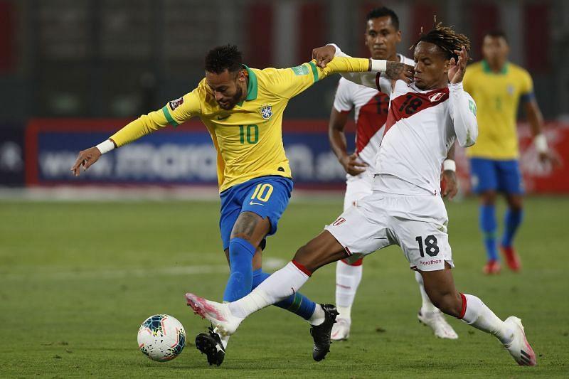 موعد مباراة البرازيل وبيرو اليوم