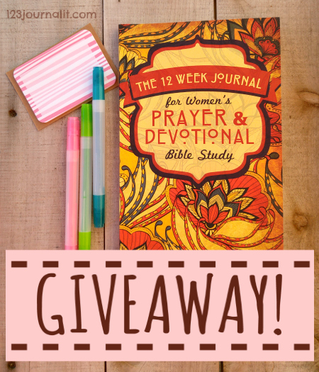 Book Giveaway at 123 Journal It Publishing for Womens Bible Study