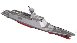 Desain Konstruksi Frigat Kelas FFX-III RoKN