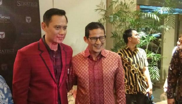 Jawab Ruhut, Demokrat: Prabowo Dukung Sandi-AHY di 2024