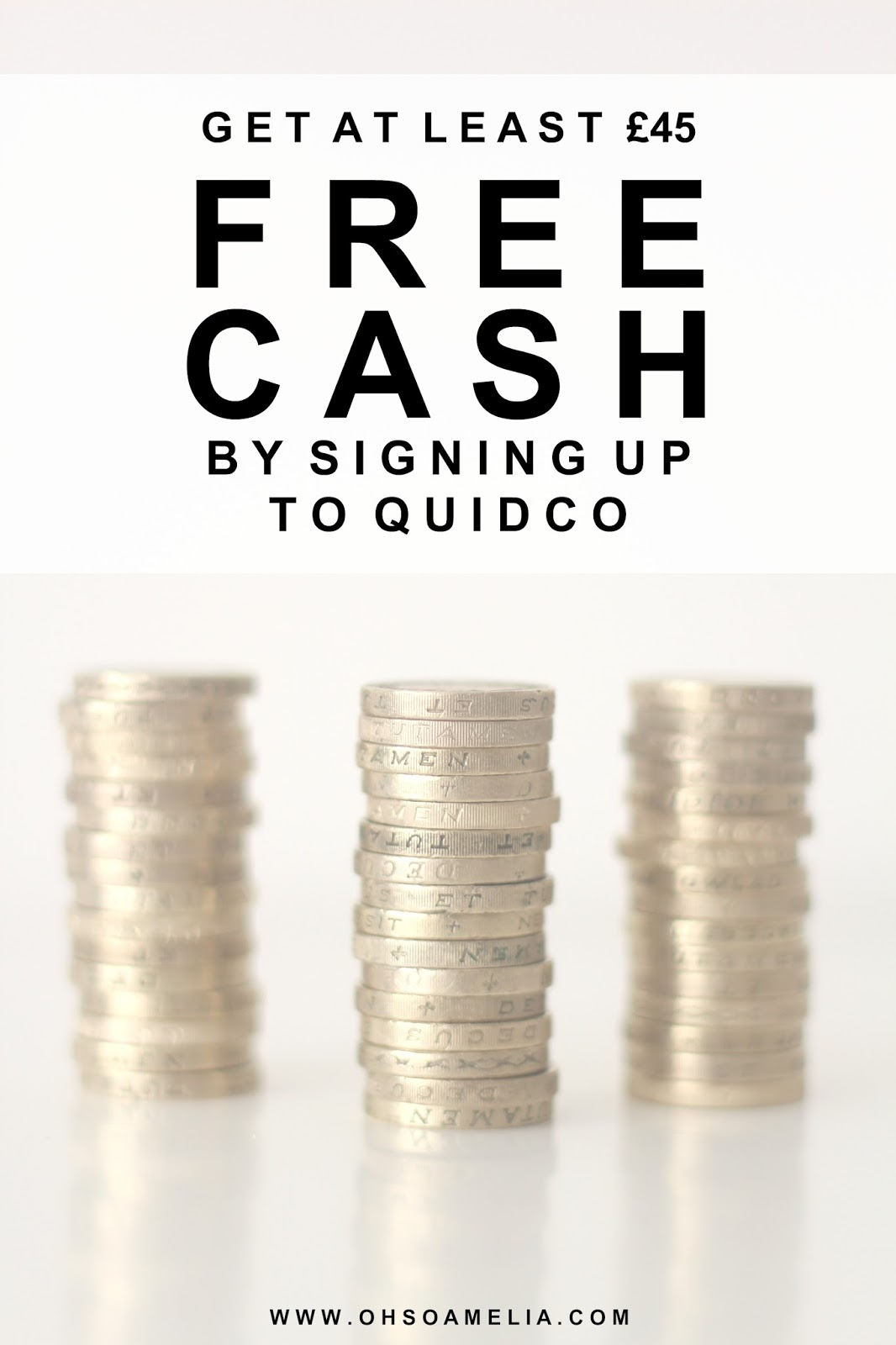 Get At Least £45 FREE CASH By Signing Up To Quidco.com