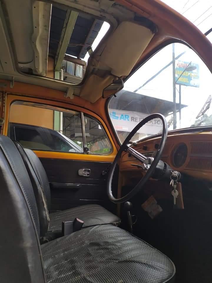 Jual Mobil Klasik VW Kodok Bumblebee Warna Kuning - LAPAK