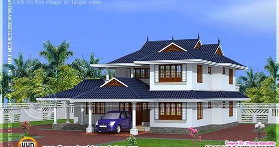 204 Square Meter Kerala Model House Design Indian House
