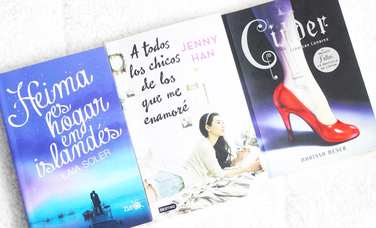 recomendacion_aleatoria_libros_favoritos_wrap_up_laia_soler_jenny_han_chris_pueyo_marissa_meyer