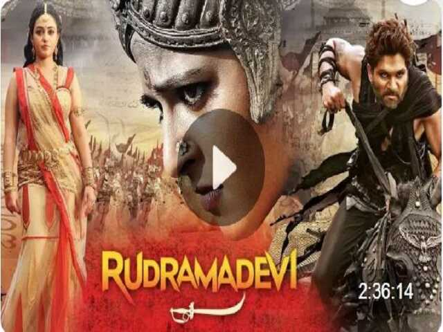Rudramadevi suphit south indian movie
