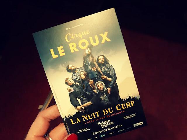 Cirque Le Roux circassien spectacle théâtre libre