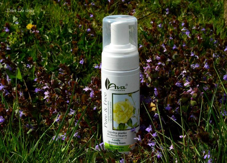 Ava Laboratorium Pure & Free Łagodna pianka do mycia twarzy