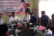 Fachrori Umar Daftar di Partai Gerindra Jambi
