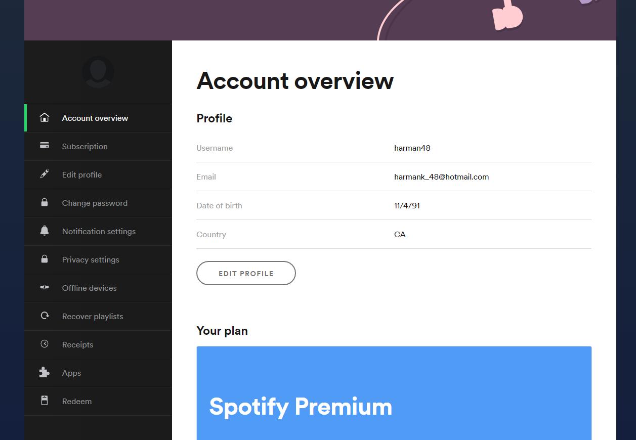 x131 FREE Spotify.com Premium Accounts July 7, 2019