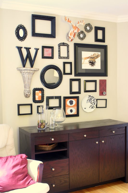 two men and a little farm photo collage wall work in progress. Black Bedroom Furniture Sets. Home Design Ideas