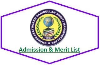Berachampa College Merit List
