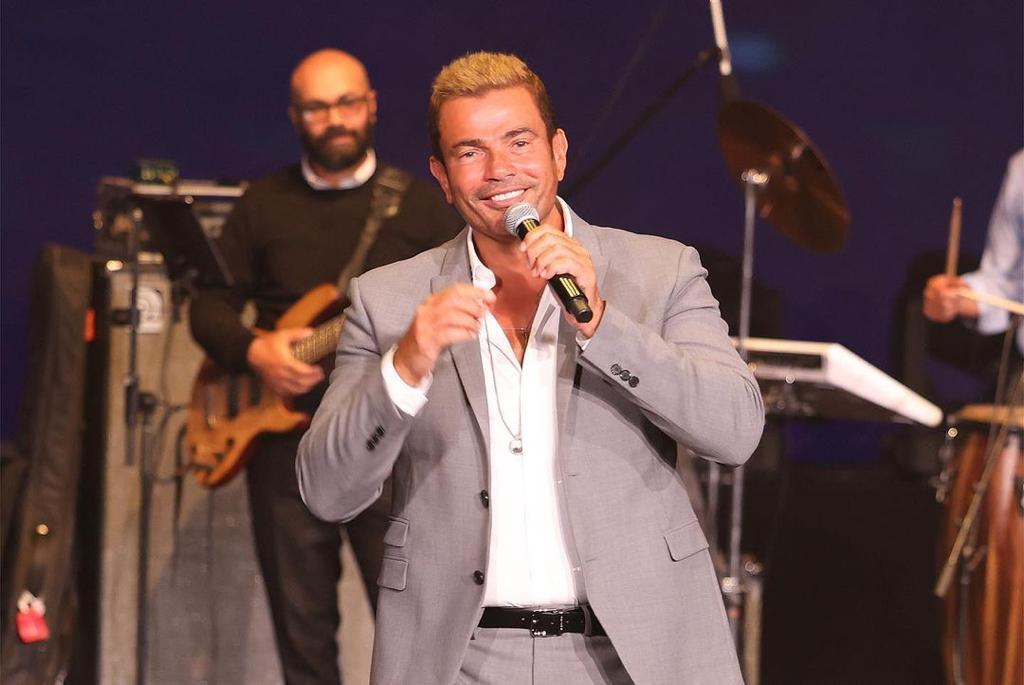 حفل النجم المصري عمرو دياب في العاصمة الإدارية الجديدة