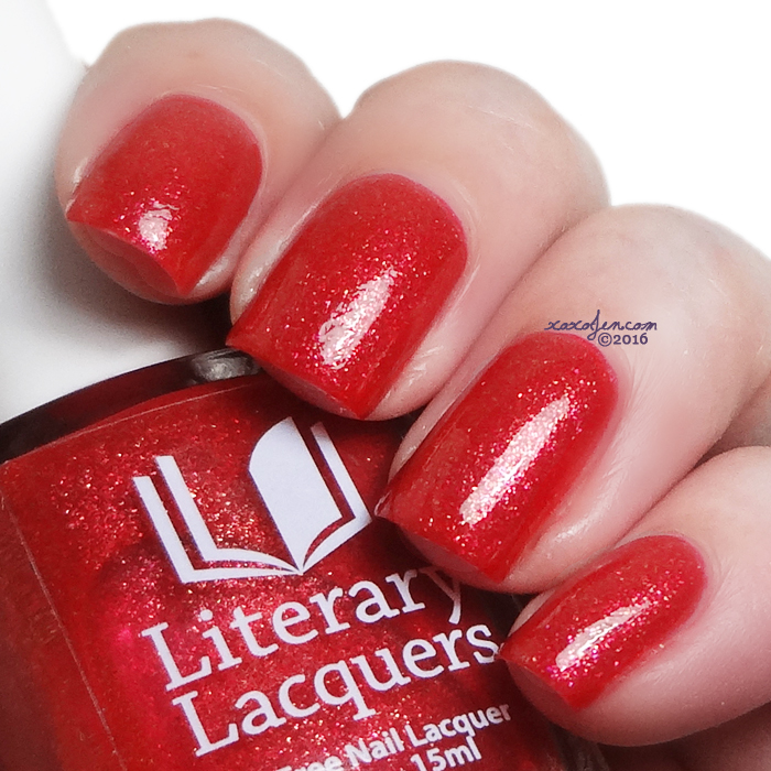 xoxoJen's swatch of Literary Lacquers Arousal