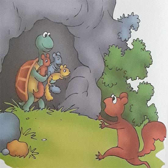 podcast dongeng asal muasal kantung tupai