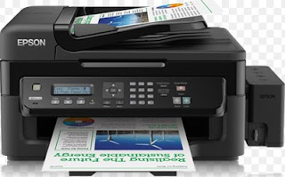 The Epson L550 printer prioritizes technology efficiency, one EPSON L550 Printer all on a printer, with this printer we can communicate using fax