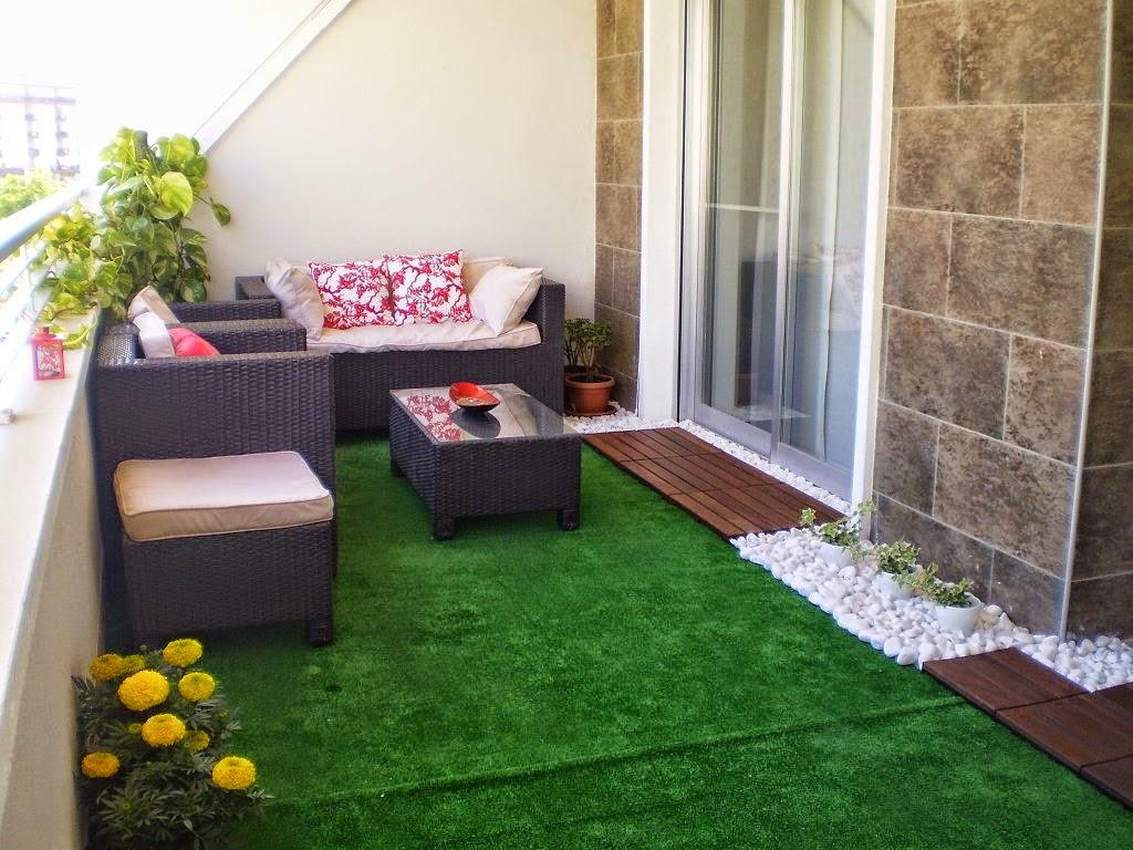 Consejos para decorar jardines en terrazas y balcones for Jardines para departamentos pequenos