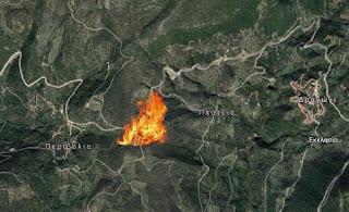 Πυρκαγιά στο Δραγώγι