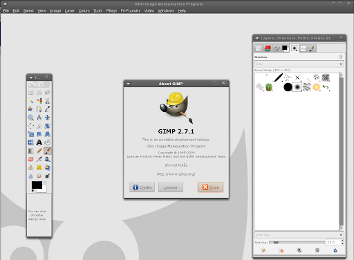 gimp for Ubuntu Oneiric
