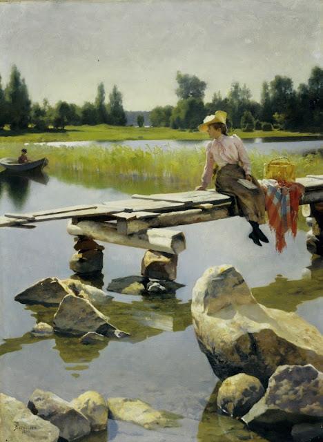 Gunnar Berndtson - Verano - 1893