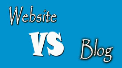 difference between a blog and a website, website vs blog,
