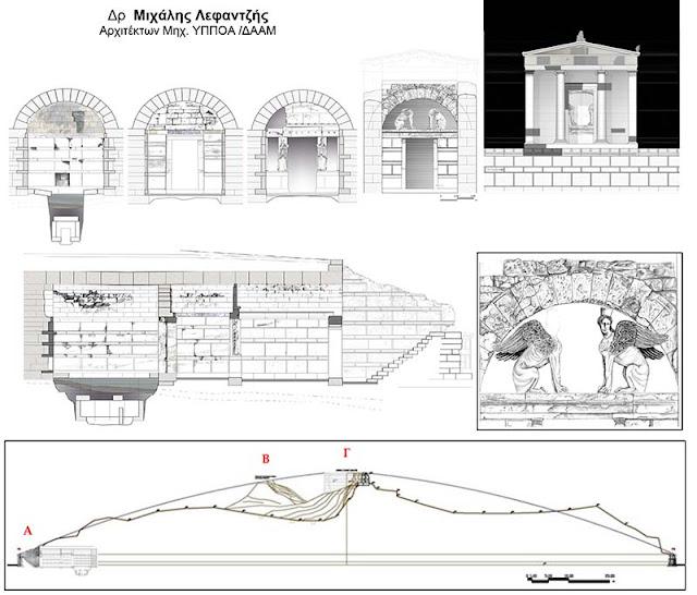 Η αρχιτεκτονική του Τύμβου Καστά στην Αμφίπολη