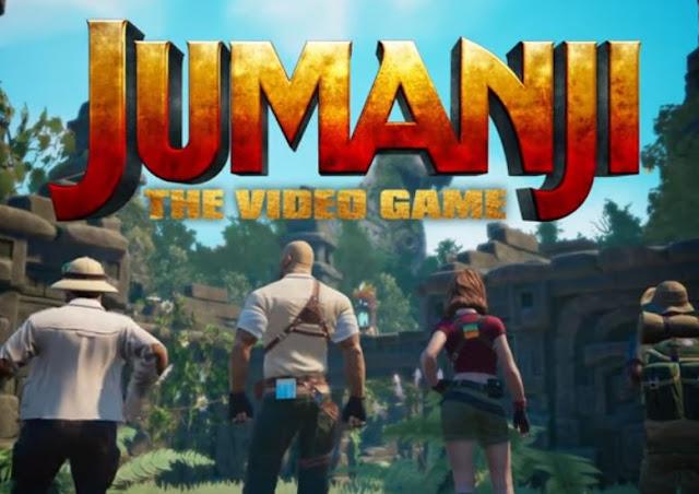 """Έρχεται το """"Jumanji -The Video Game"""" παιχνίδι βασισμένο στην επιτυχημένη ταινία Jumanji (video)"""