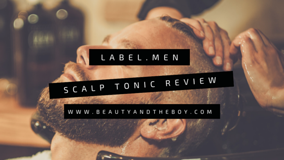 label.men Scalp Tonic Review