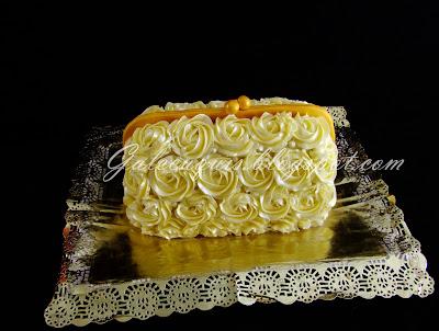 tarta bolso de fiesta