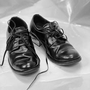 WALKER 301BI - WALKER 301 with IRON HEELS in BLACK