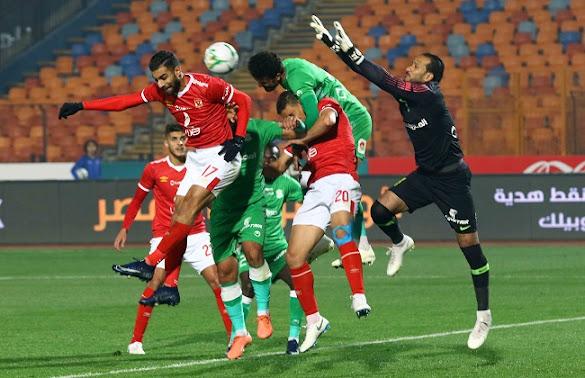 موعد مباراة الاتحاد السكندري والأهلي الدوري المصري