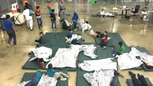 EEUU bate récord de retención de niños migrantes: 69 550 en un año