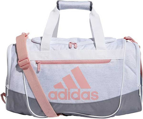 White Adidas Gym bag