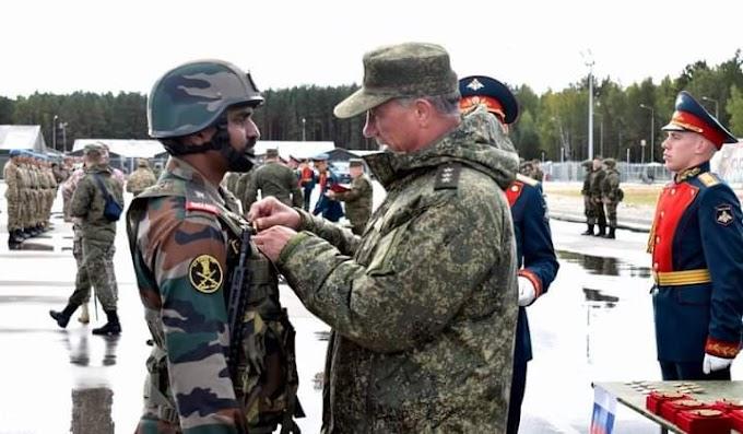 Army News : मल्टी नेशन एक्सरसाइज ZAPAD2021 मुलिनो ट्रेनिंग ग्राउंड , रूस में आज पूरा हुआ |