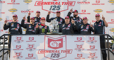 Race Winner Ty Gibbs is Perfect in Return to the Monster Mile.