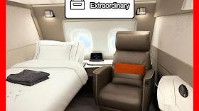 Naik Pesawat First Class? Dapat Apa Aja Sih?